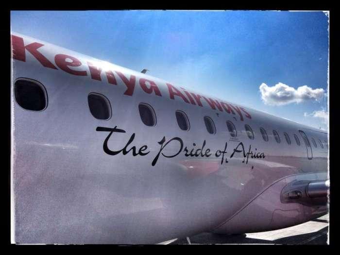 Keyna Airways - der Stolz Afrikas