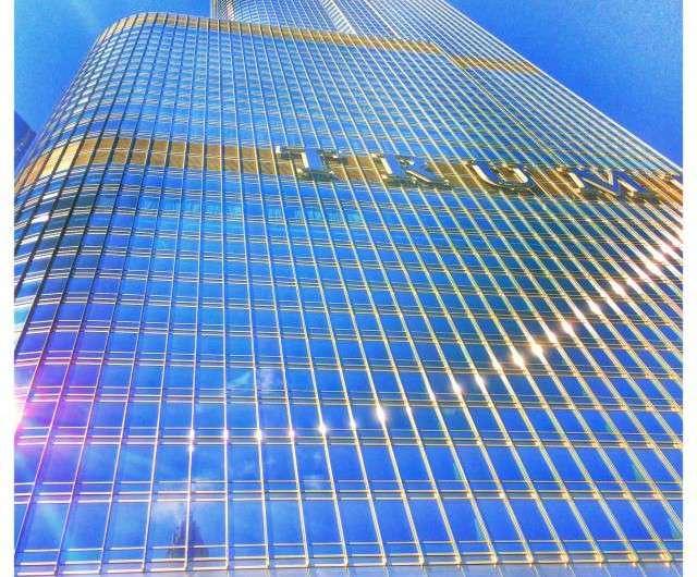 Der Trump Tower in Chicago