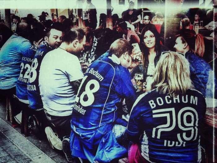 Bei Spielen des VfL Bochum treffen sich hier die Fans zum Bier