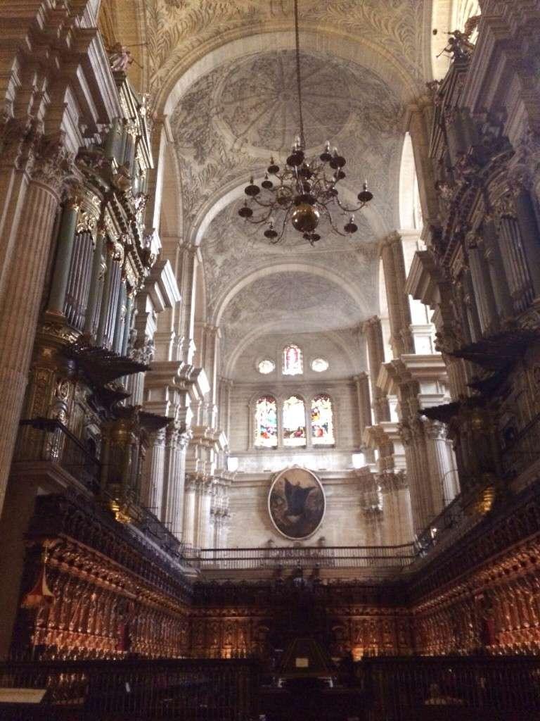 Die prächtige Kathedrale von innen