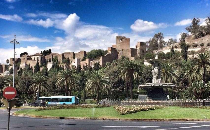 Zwei arabische Festungen und ein römisches Theater in Malaga