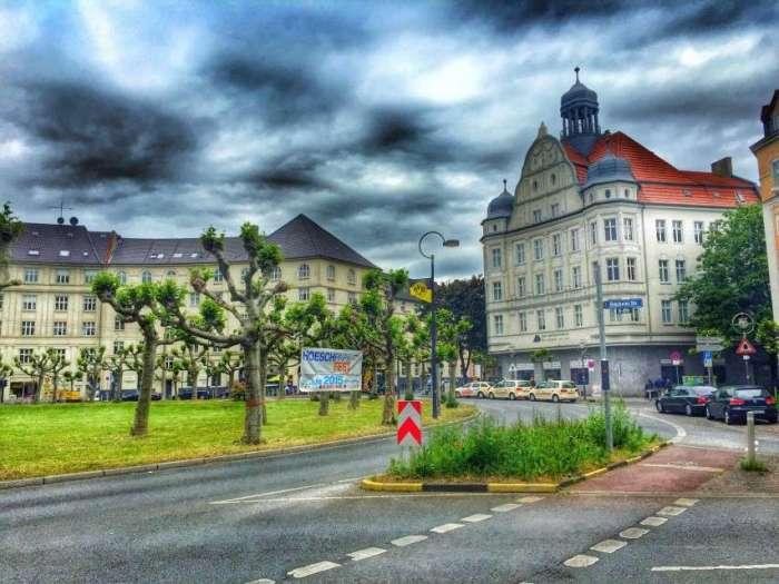 Der Borsigplatz in Dortmund