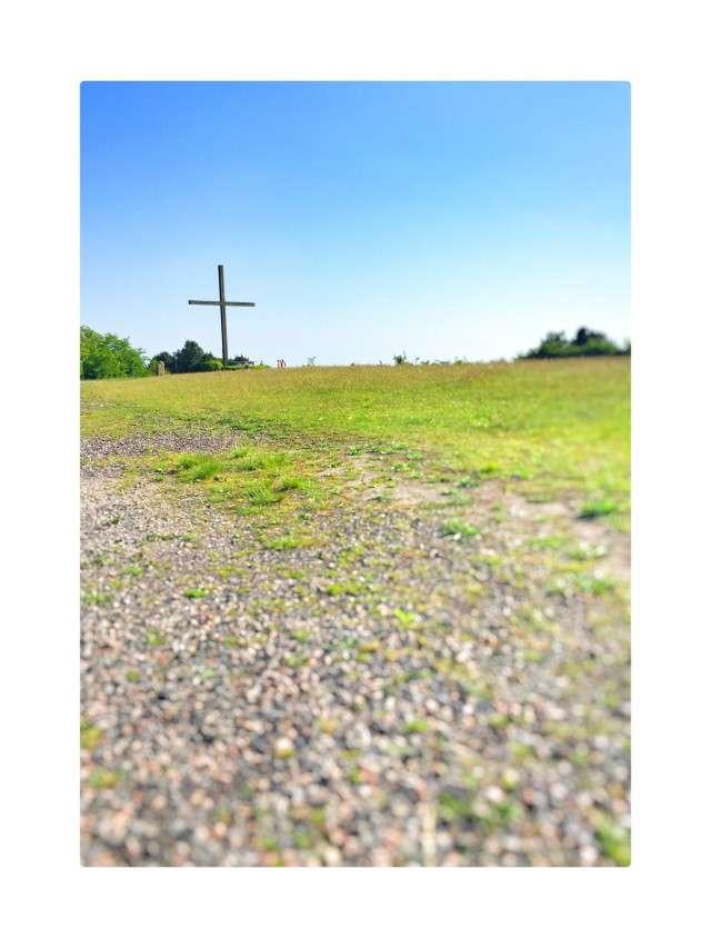 Kreuz auf der Halde Haniel
