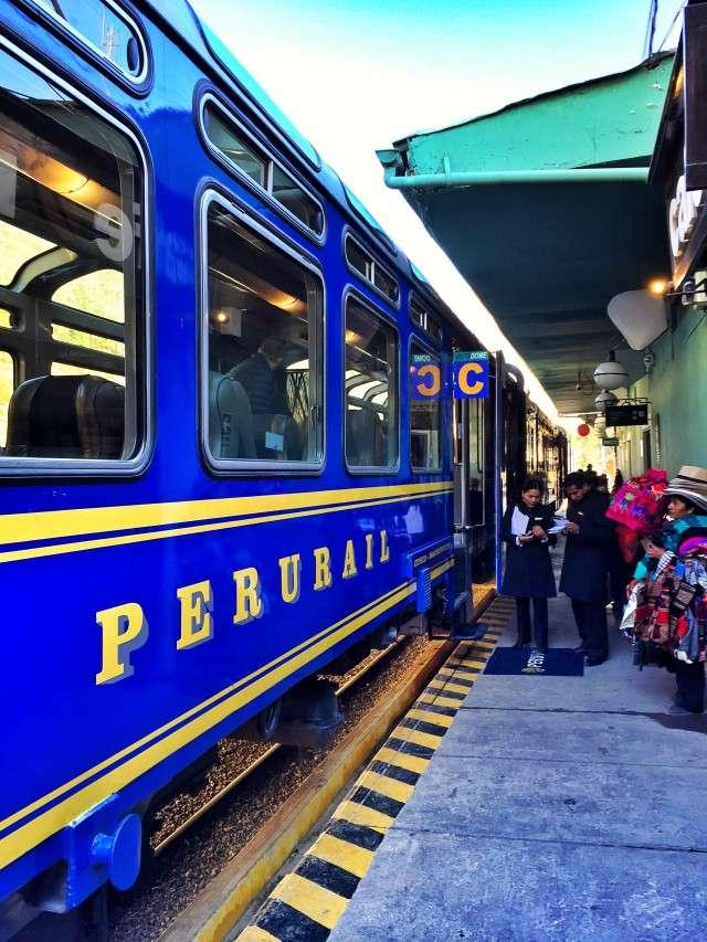 Nach Machu Picchu fährt nur ein Zug, Straßen gibt es nicht
