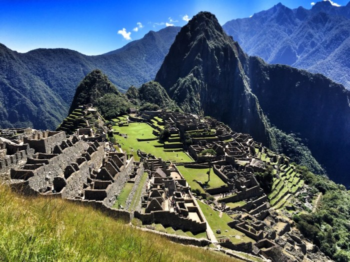 Das Ziel: Machu Picchu