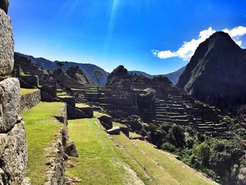 Die alte Inkastadt Machu Picchu