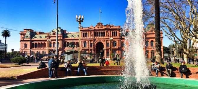 Plaza de Mayo in Buenos Aires