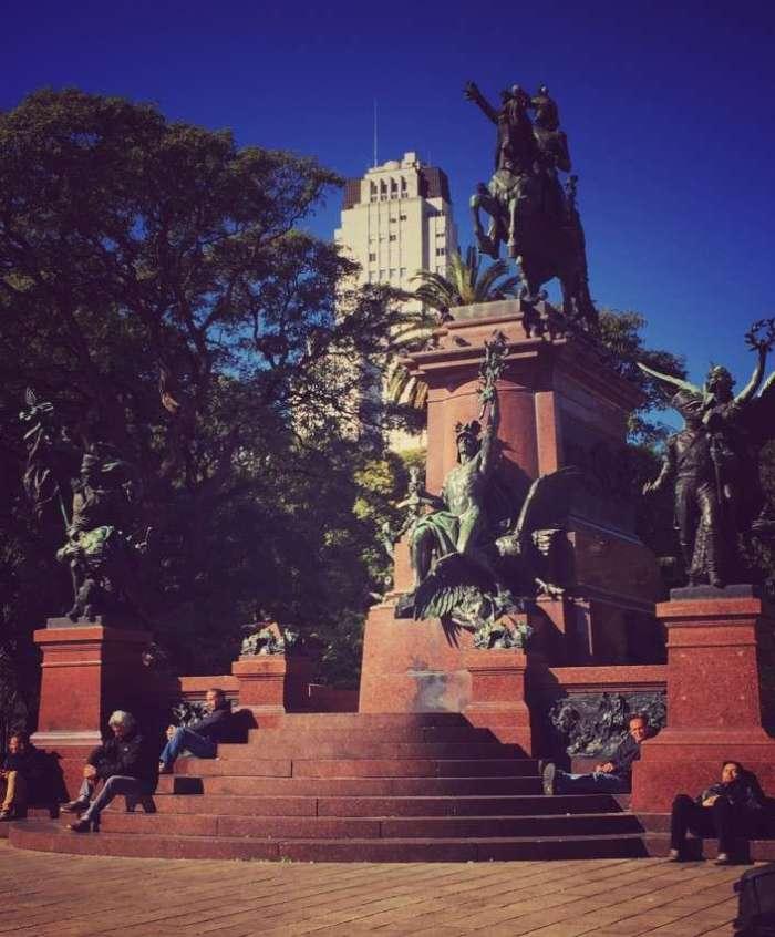 Denkmal für Freiheitskämpfer José da San Martin in Buenos Aires