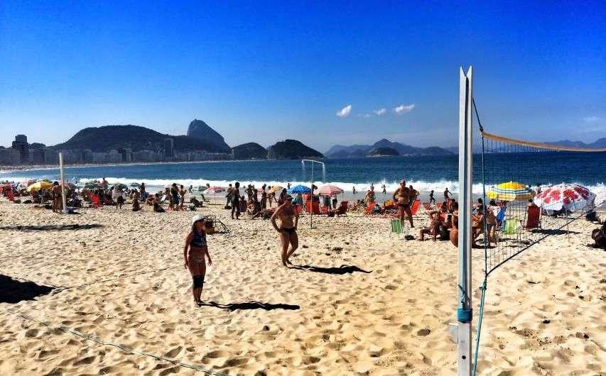 Olympische Spiele 2016 in Rio – an Copacabana und Zuckerhut