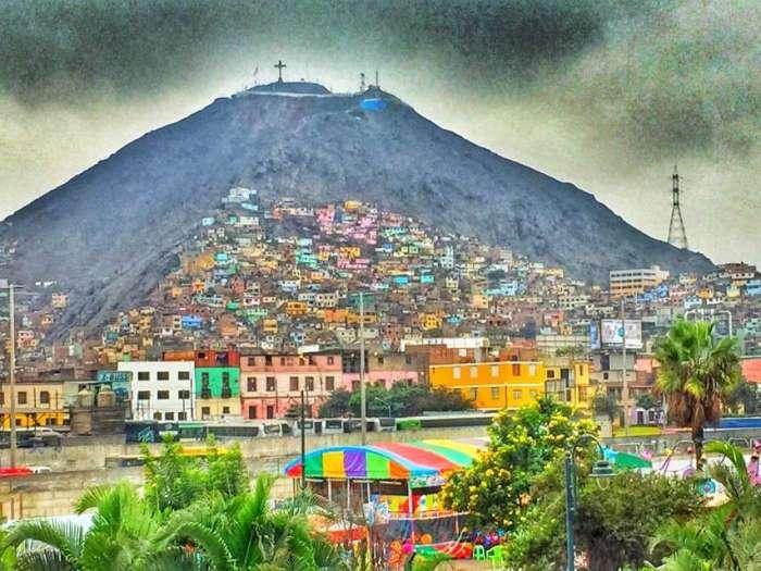 Favelas im Berg