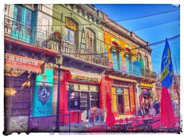Das bunte Viertel La Boca
