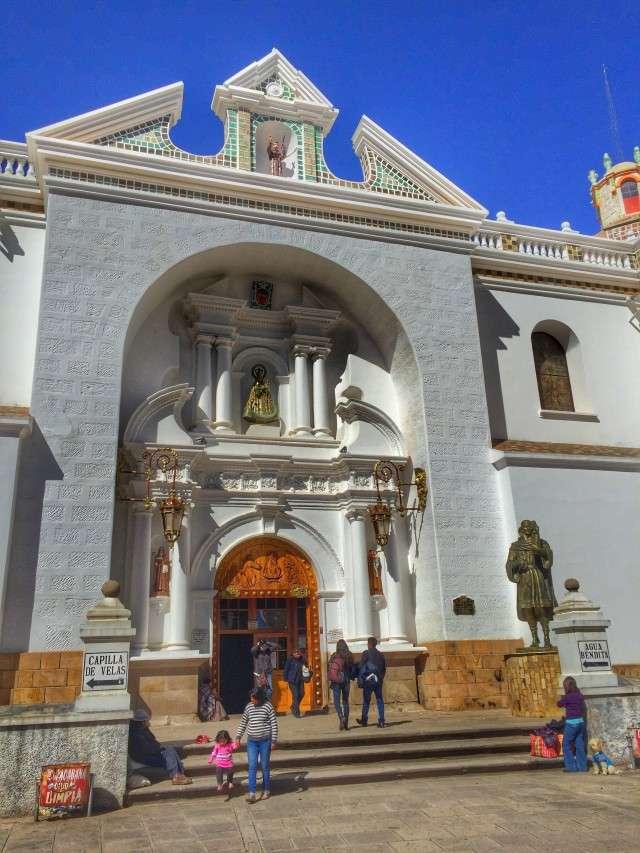 Wallfahrtskirche in Copacabana