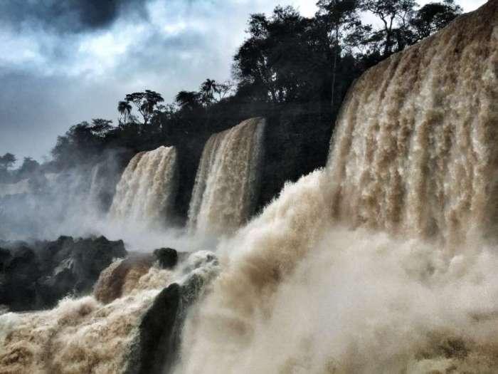Wasserfälle von Iguazu in Argentinien