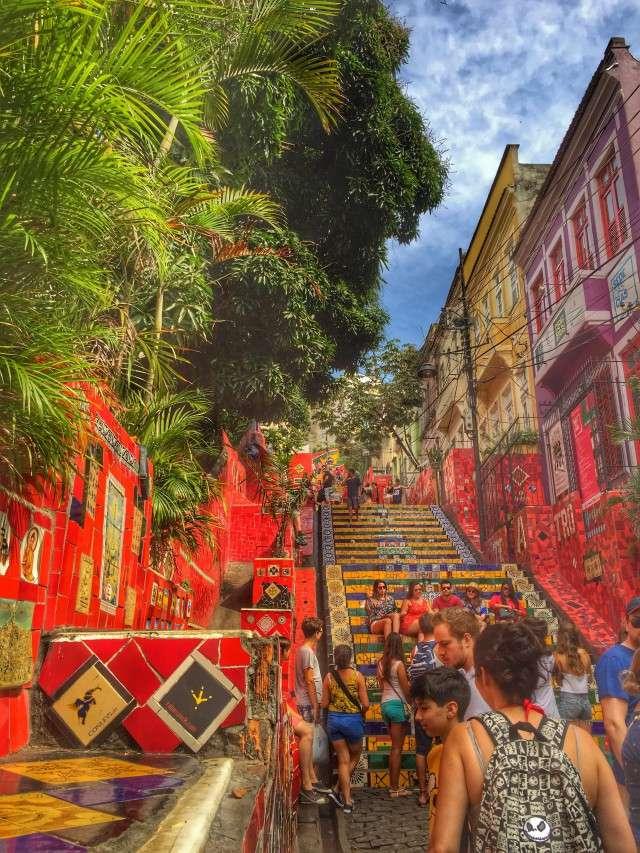 Die Fliesentreppe - ein beliebtes Fotomotiv