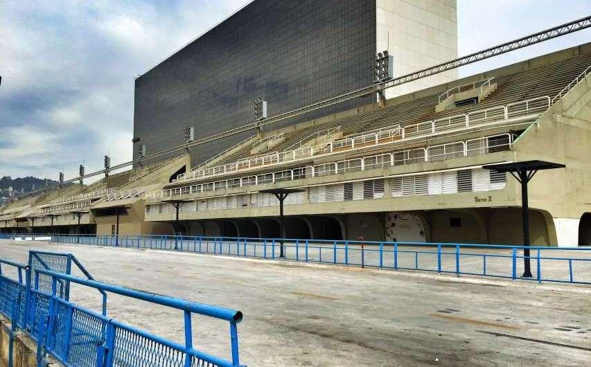 Das Sambadromo in Rio de Janeiro