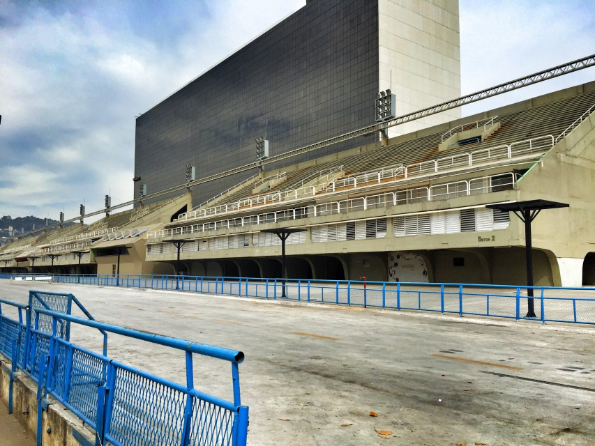 Das Sambadrom in Rio
