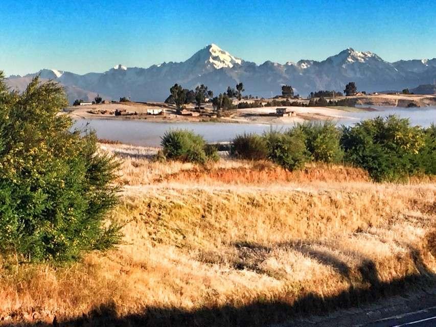 Morgentau im Hochland bei Cusco