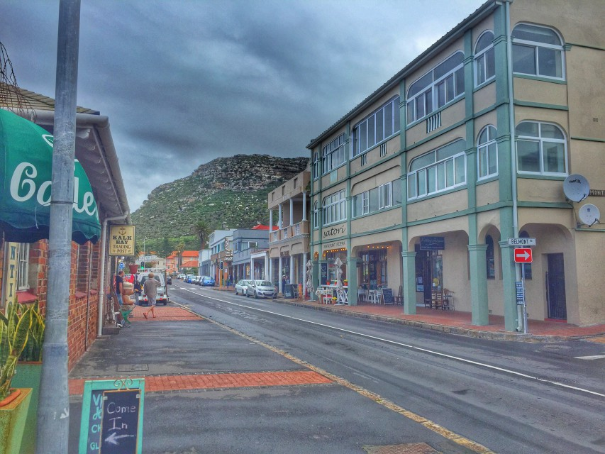 Hauptstraße in Kalk Bay