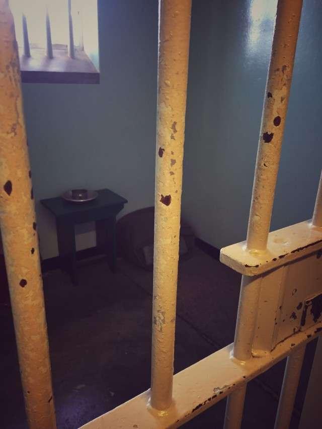 Die Zelle von Nelson Mandela