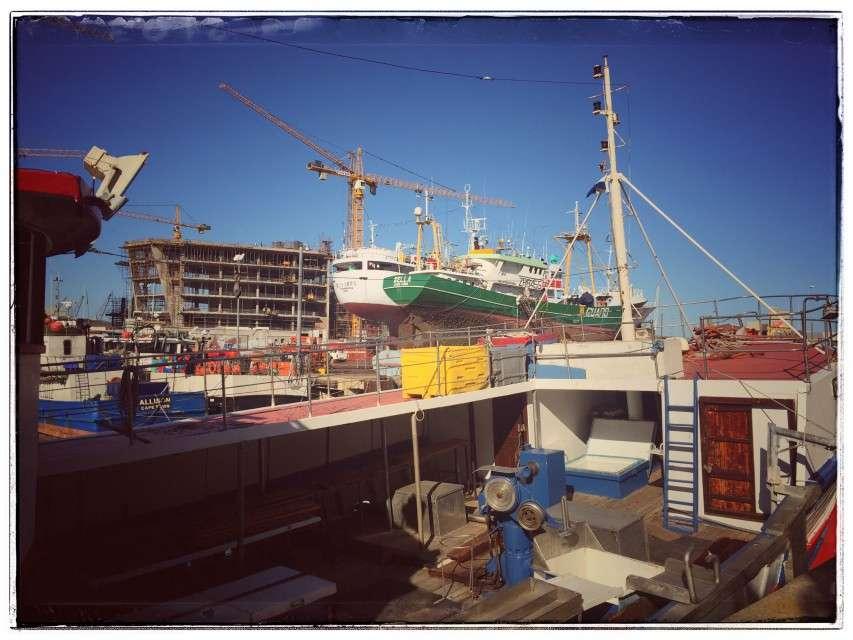 Werft an der Waterfront