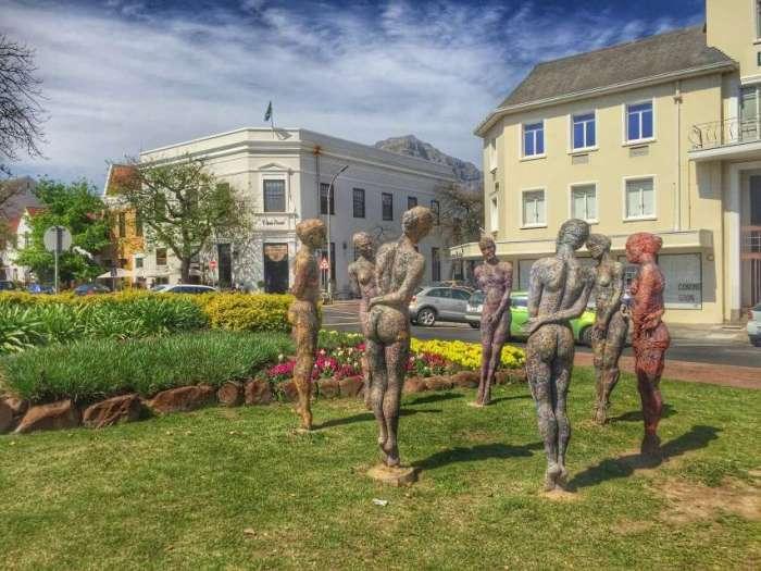 Innenstadt von Stellenbosch