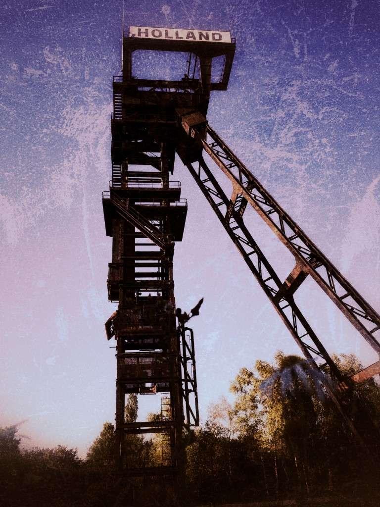 Turm der Zeche Holland