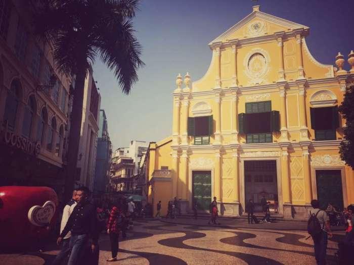 Gebäude am historischen Marktplatz