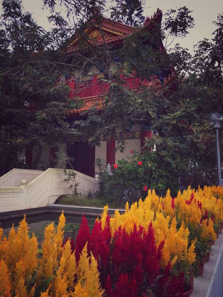 Der Palast im Ngong Ping