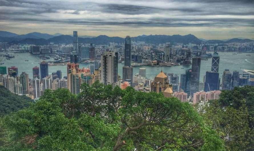 Victoria Peak – Blick über Hongkong
