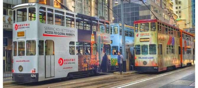 Die Kult-Tram in Hongkong