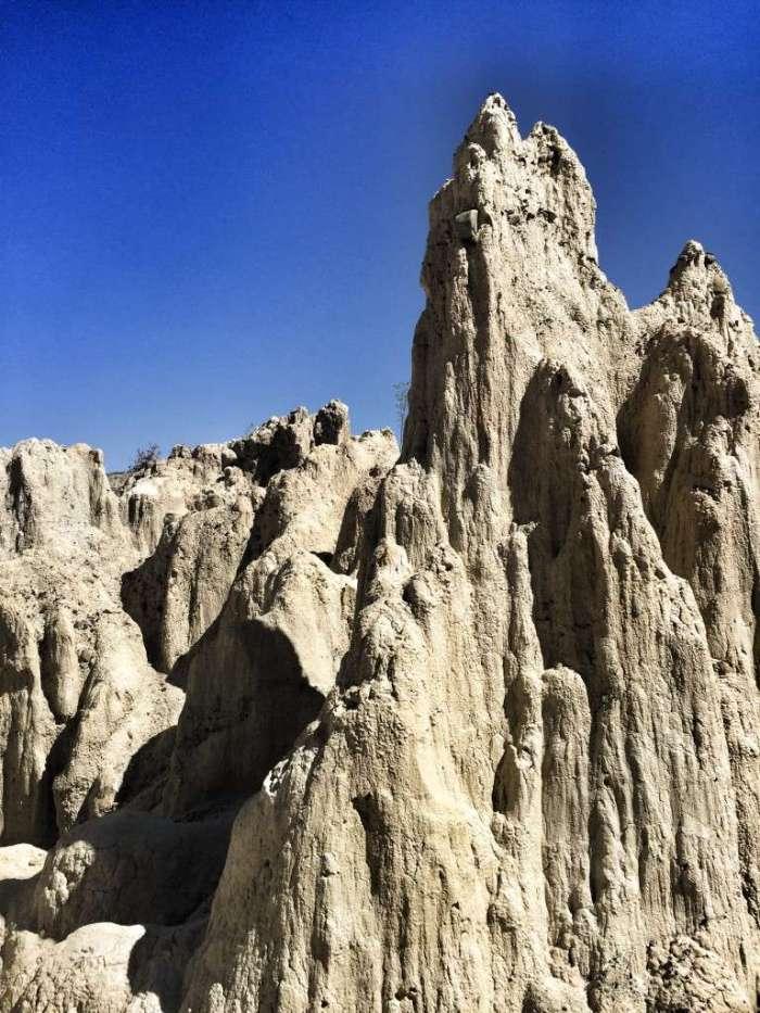 Felsen in der Mondlandschaft