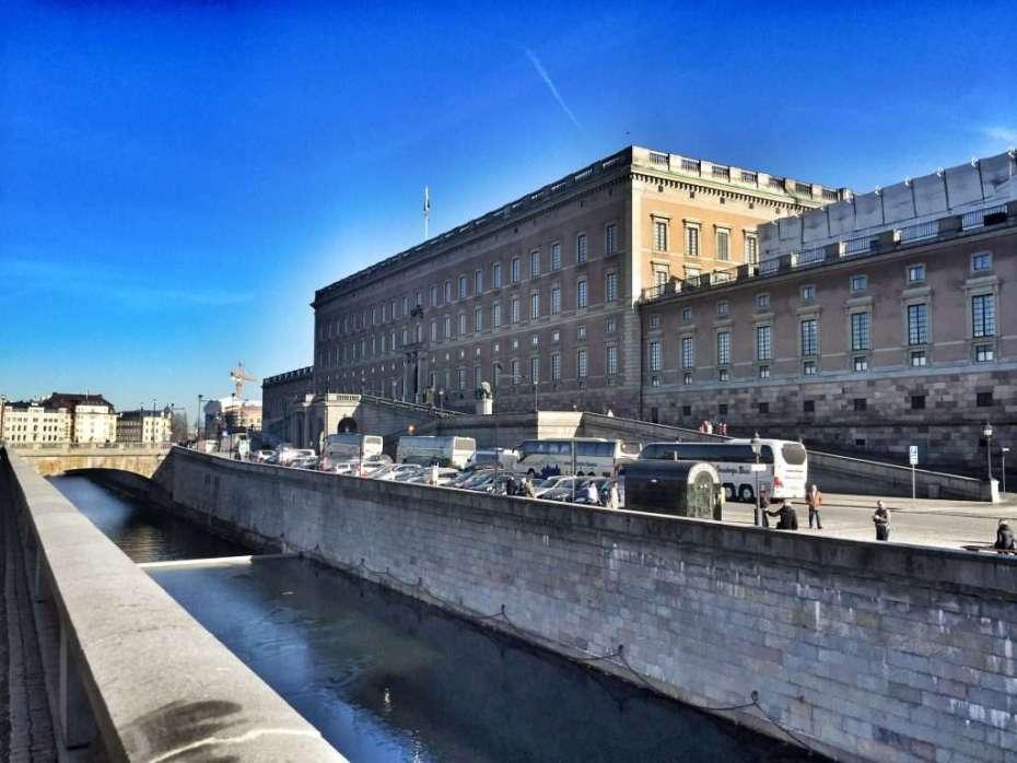 Königliches Schloss in Stockholm