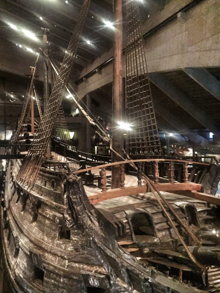 Das Schiff im Vasa-Museum