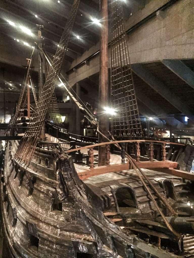 Das Schiff im Wasa-Museum