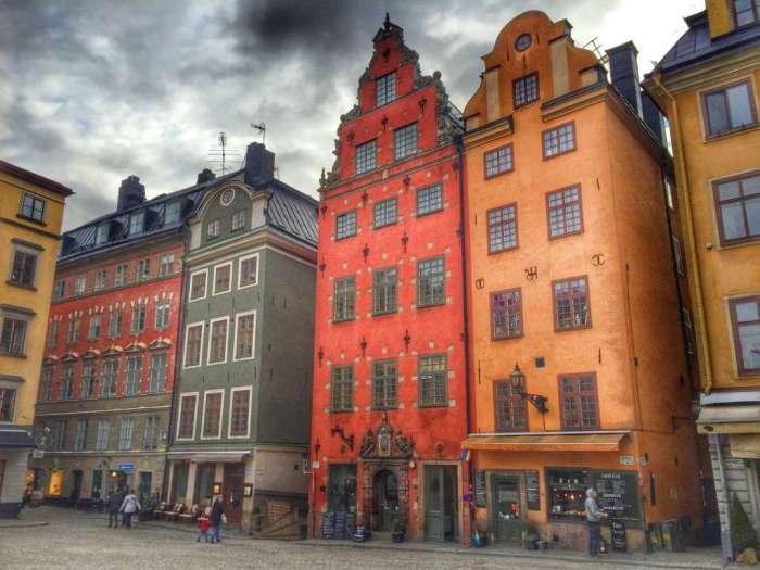 Der Marktplatz in der Stockholmer Altstadt