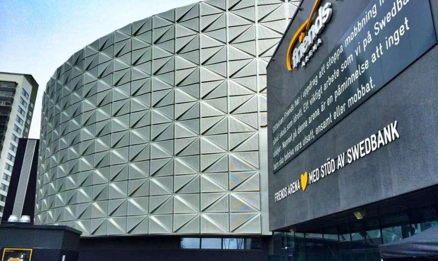 Friends Arena – das schwedische Nationalstadion