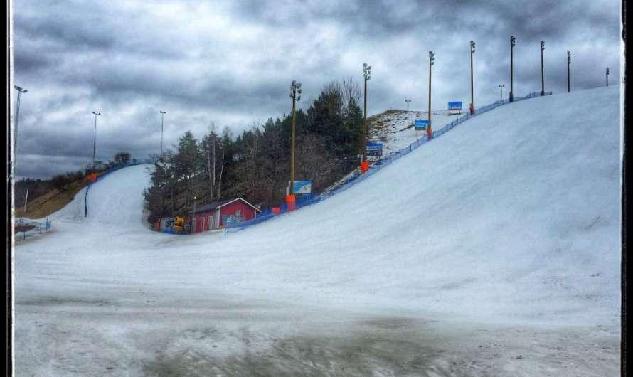 Skifahren in Stockholm