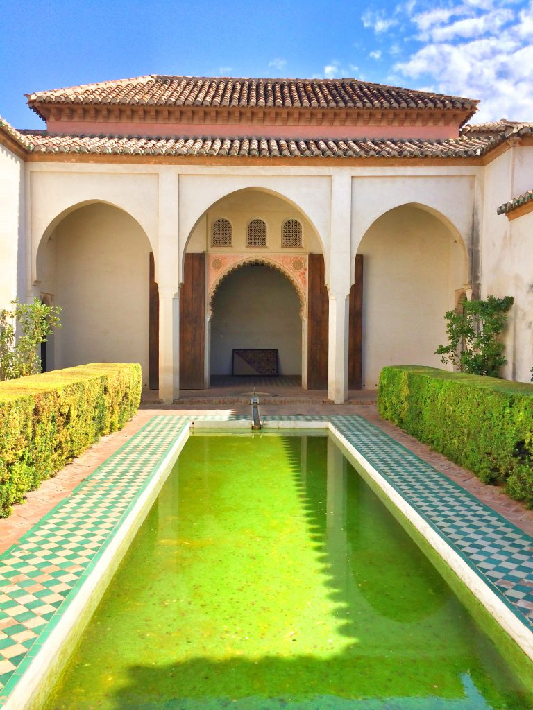 Innenhof Alcazaba