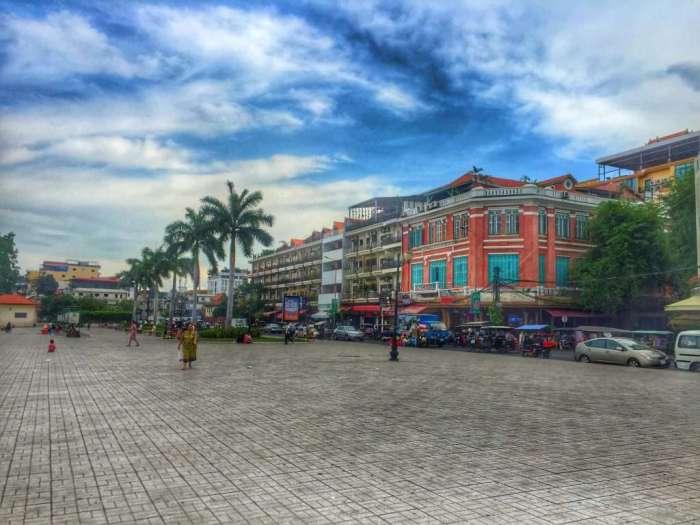 Uferpromenade von Phnom Penh