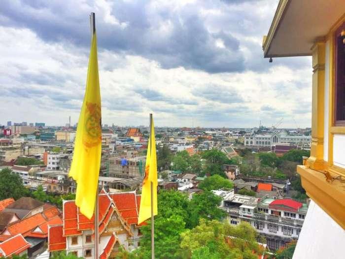Blick vom goldenen Berg auf das historische Zentrum