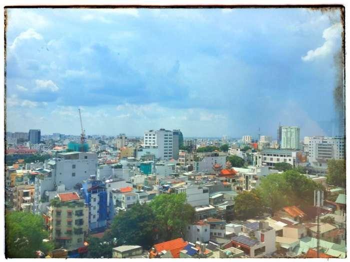 Blick über Ho-Chi-Minh-Stadt