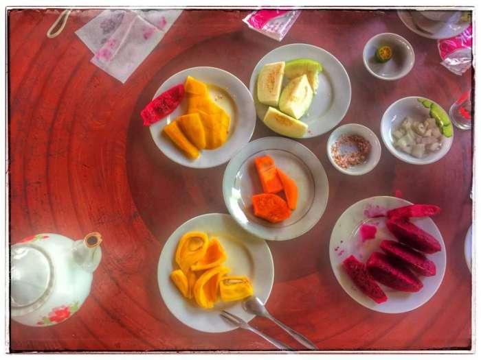 Früchte können auf den Inseln probiert werden