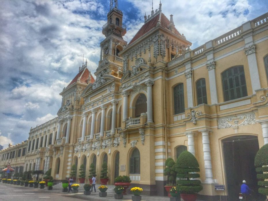 Das Rathaus in Saigon