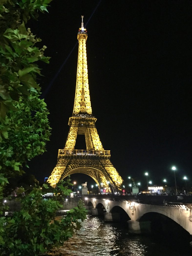 Der Turm bei Nacht...