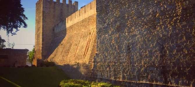 Das Castelo de Sao Jorge in Lissabon