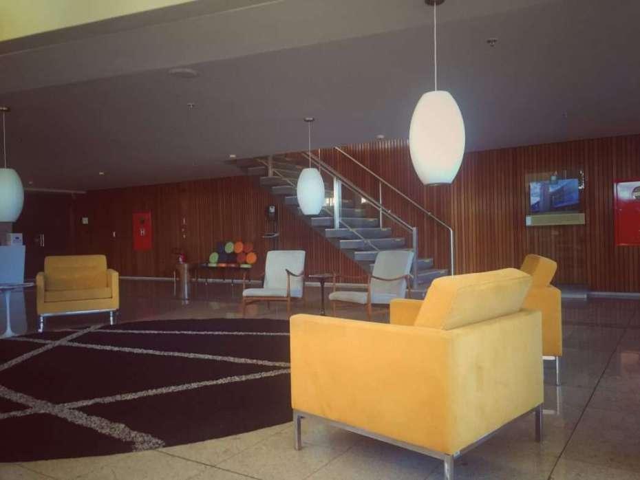Die Lobby im Bauhaus-Stil