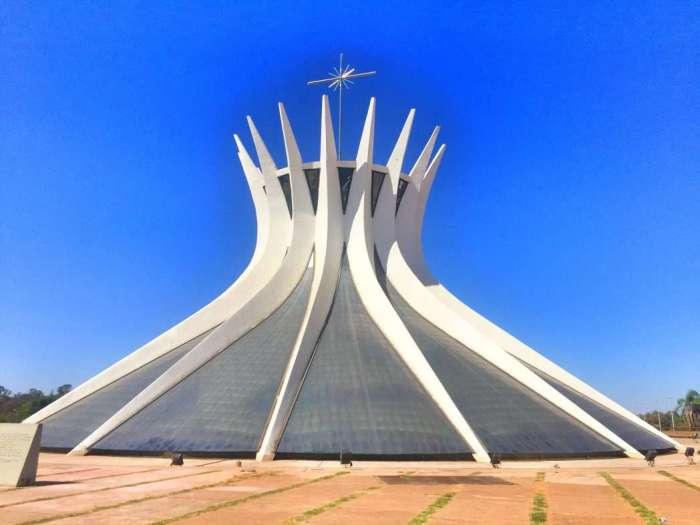 Die Kathedrale in Brasilia