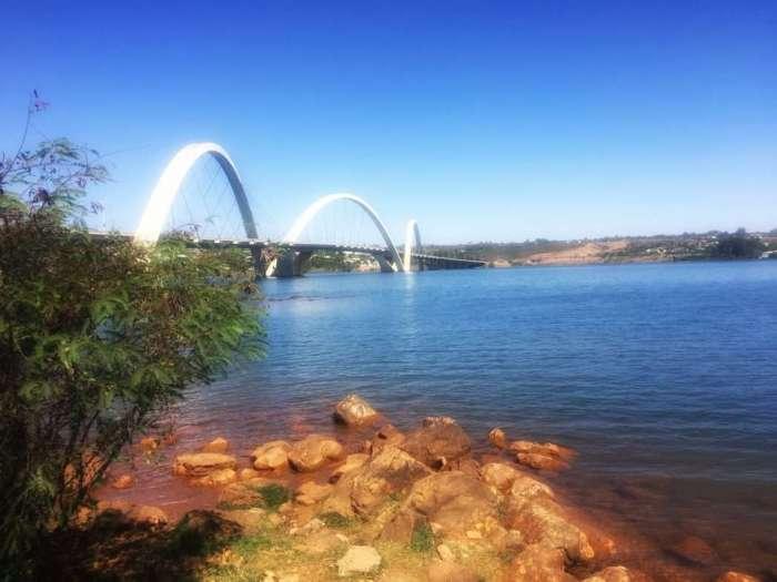Die Kubitschek-Brücke in Brasilia