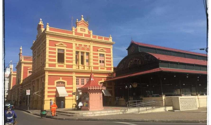 Der Markt in Manaus und Gustave Eiffel