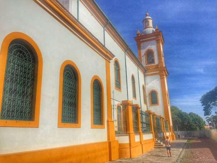 Die Kathedrale in Manaus